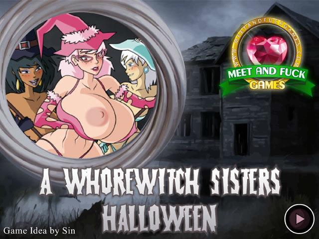 Русские игры на хэллоуин секс выебал