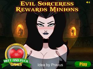 Evil Sorceress Rewards Minions