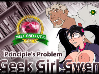 Geek Girl Gwen: Principles Problem